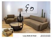 LUCY SOFA AND CHAIR